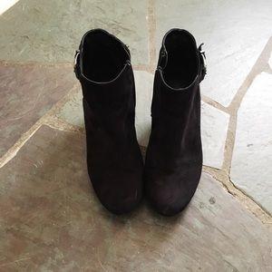 Shoes - Sam & Libby black seude boots